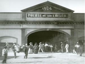 Primer Puente San Luisito.