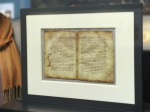 Exhiben manuscrito de Arquímedes desaparecido 700 años