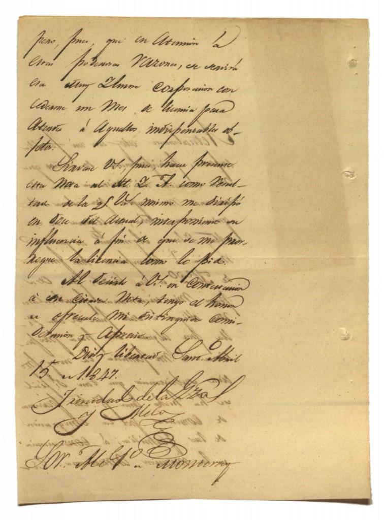 Documento 15 Carta de Trinidad de la Garza (2)