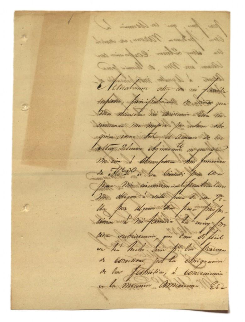 Documento 15 Carta de Trinidad de la Garza