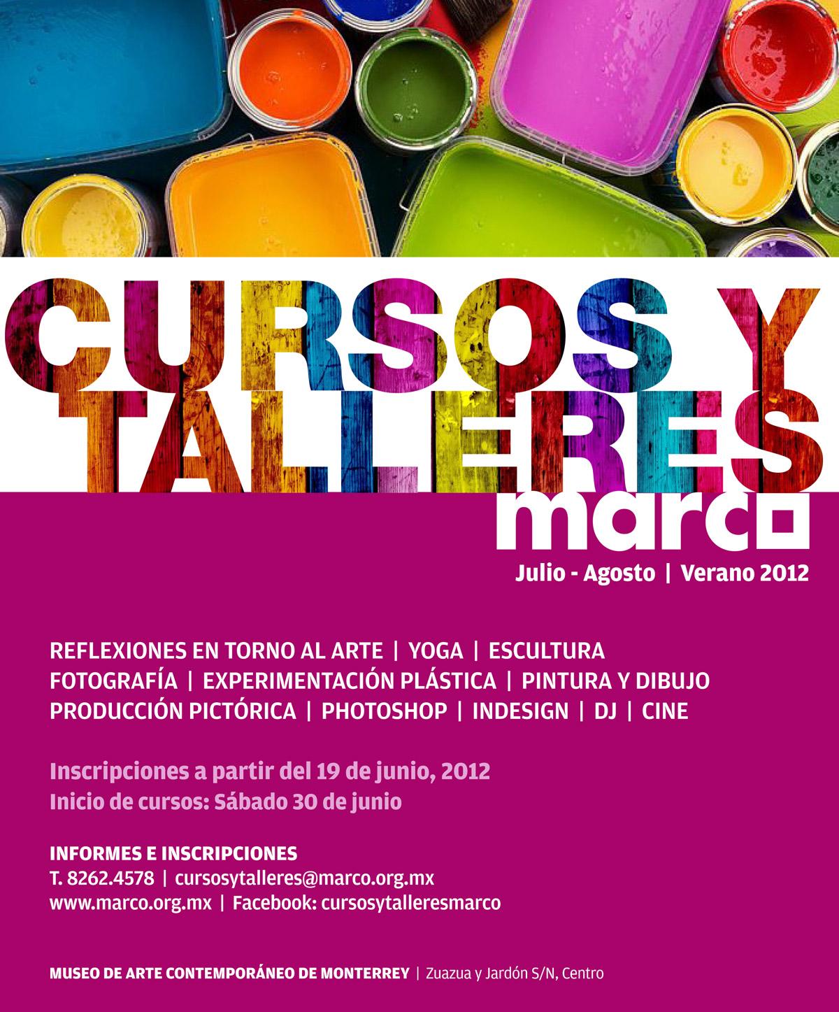 Talleres de Verano en MARCO - Diario Cultura.mx