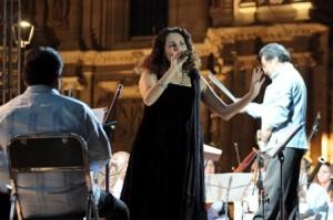 Concierto de canciones oaxaqueñas para público de La Guelaguetza