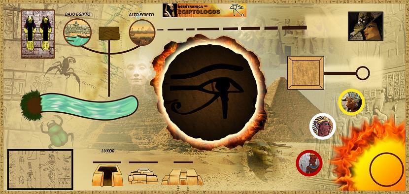 Robots y egipcios se unen para descubrir una historia