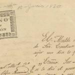 Informe dado por el alcalde de Santa Catarina al gobernador del estado en donde menciona el hallazgo del cuerpo de una mujer completamente mutilado en el camino del Saltillo a Monterrey. El documento está fechado el 12 de junio de 1830. 01.