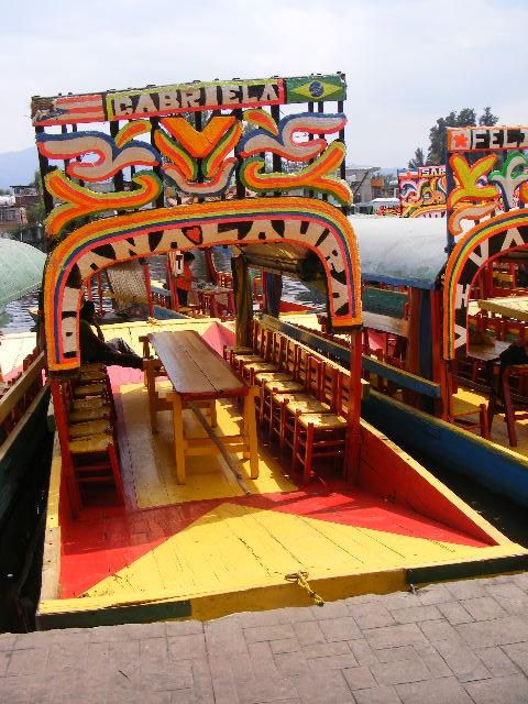 Embarcadero Caltongo en Xochimilco