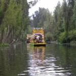 Ruta ecológica en Xochimilco