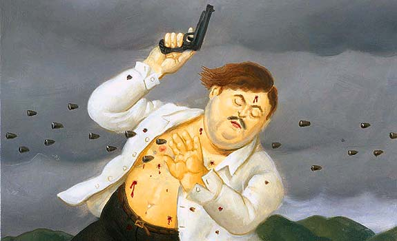 Puede pasar, Carlos Prieto. (Imagen tomada de Tribuna Latina - Muerte de Pablo Escobar)
