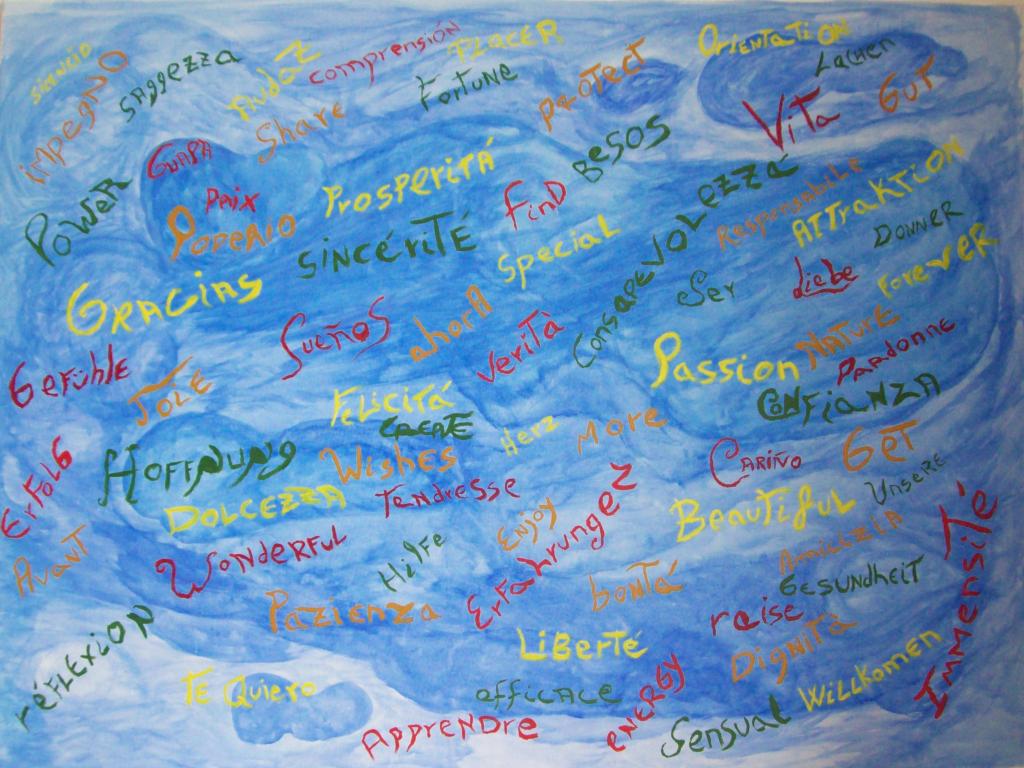 El poder de las palabras. Autor: Jerónimo. Sitio: artekunst.wordpress.com
