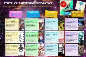 Flyer - Programa - Ciclo Hiperespacio 2015b