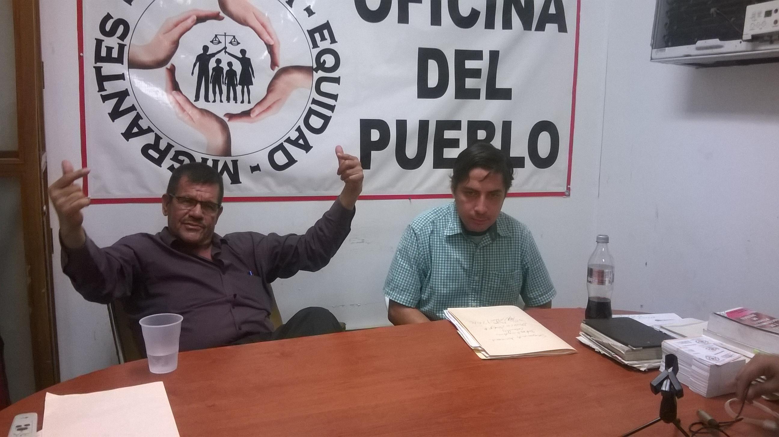 Oficina del Pueblo hace llamado para anular el voto estas elecciones. Fotografía: Gabriela Sánchez