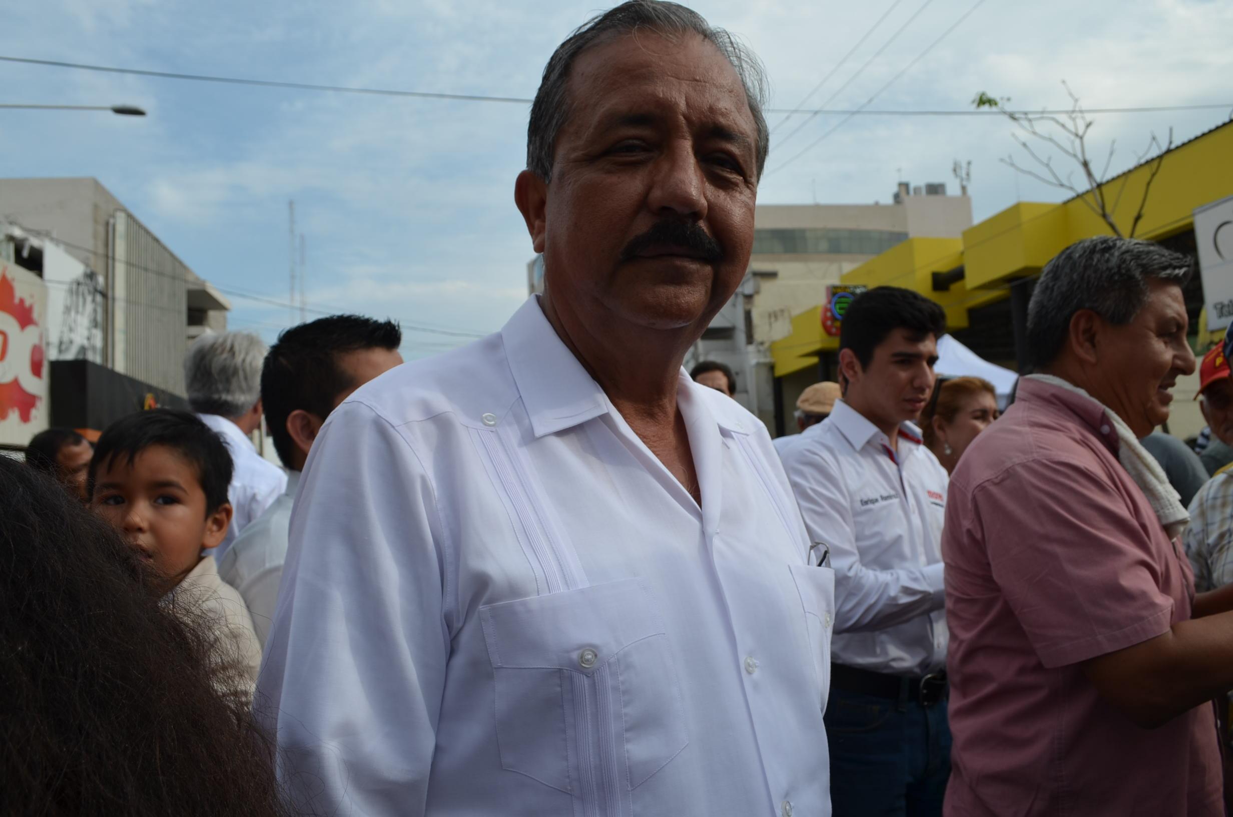 Estrada Ferreiro, argumentó que había incongruencias y compadrazgo en el gobierno actual. Fotografía: Gabriela Sánchez