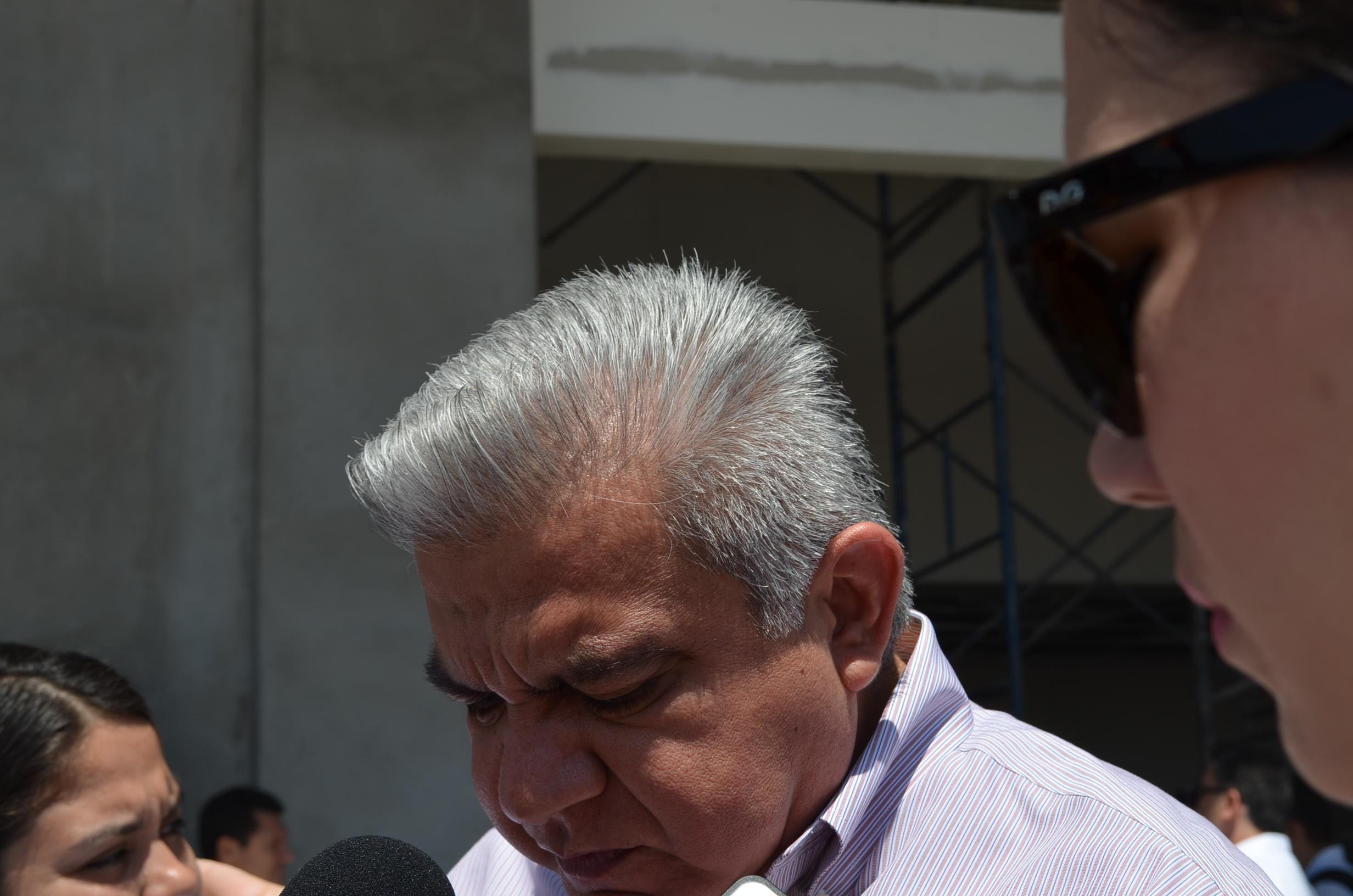 Procurador Marco Antonio Higuera Gómez. Fotografía: Gabriela Sánchez