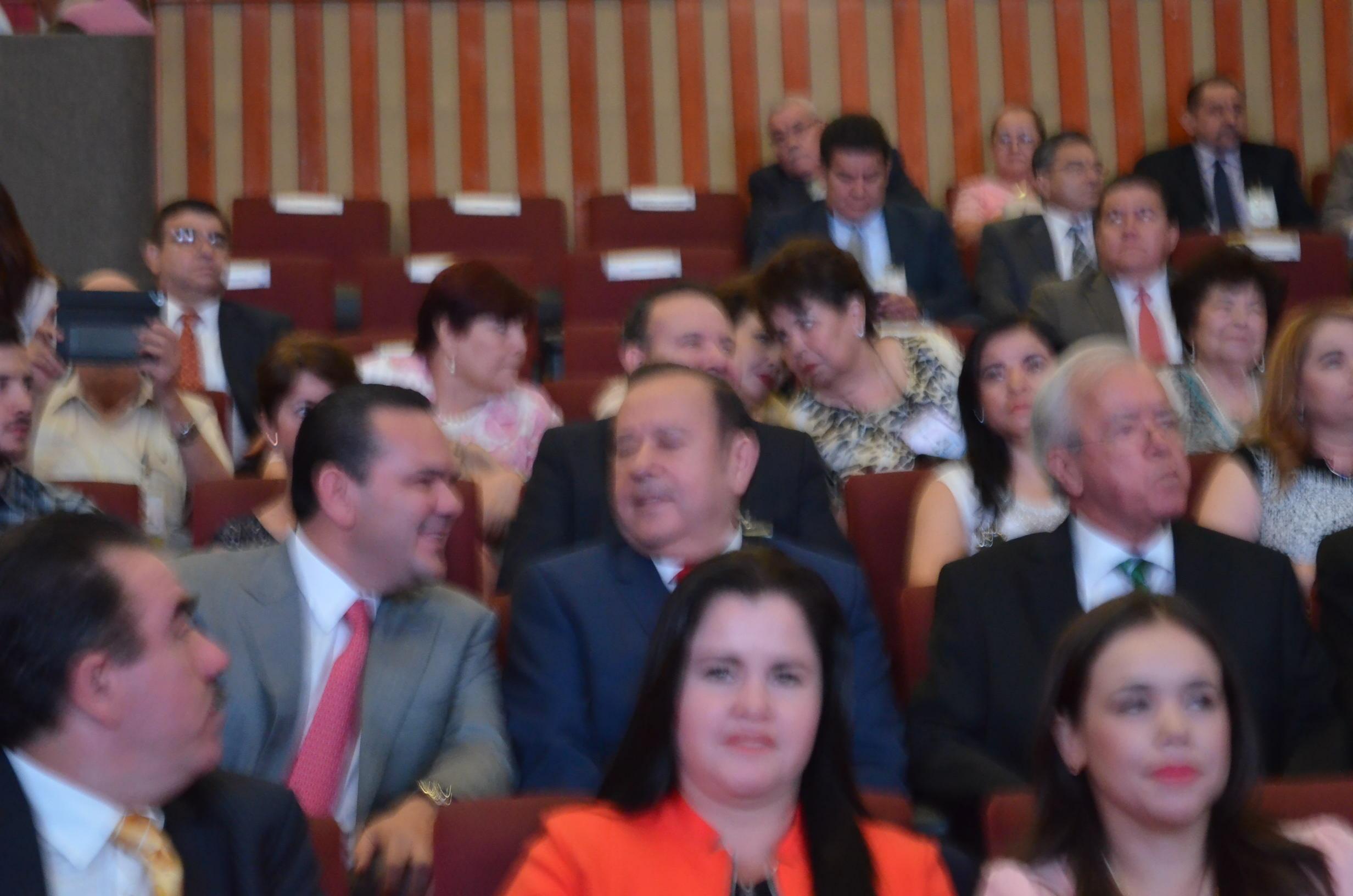 Al evento asistió también Sergio Torres y Aaron Irízar