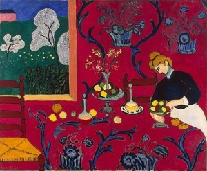 Henri Matisse- Reed room (Harmony in red)