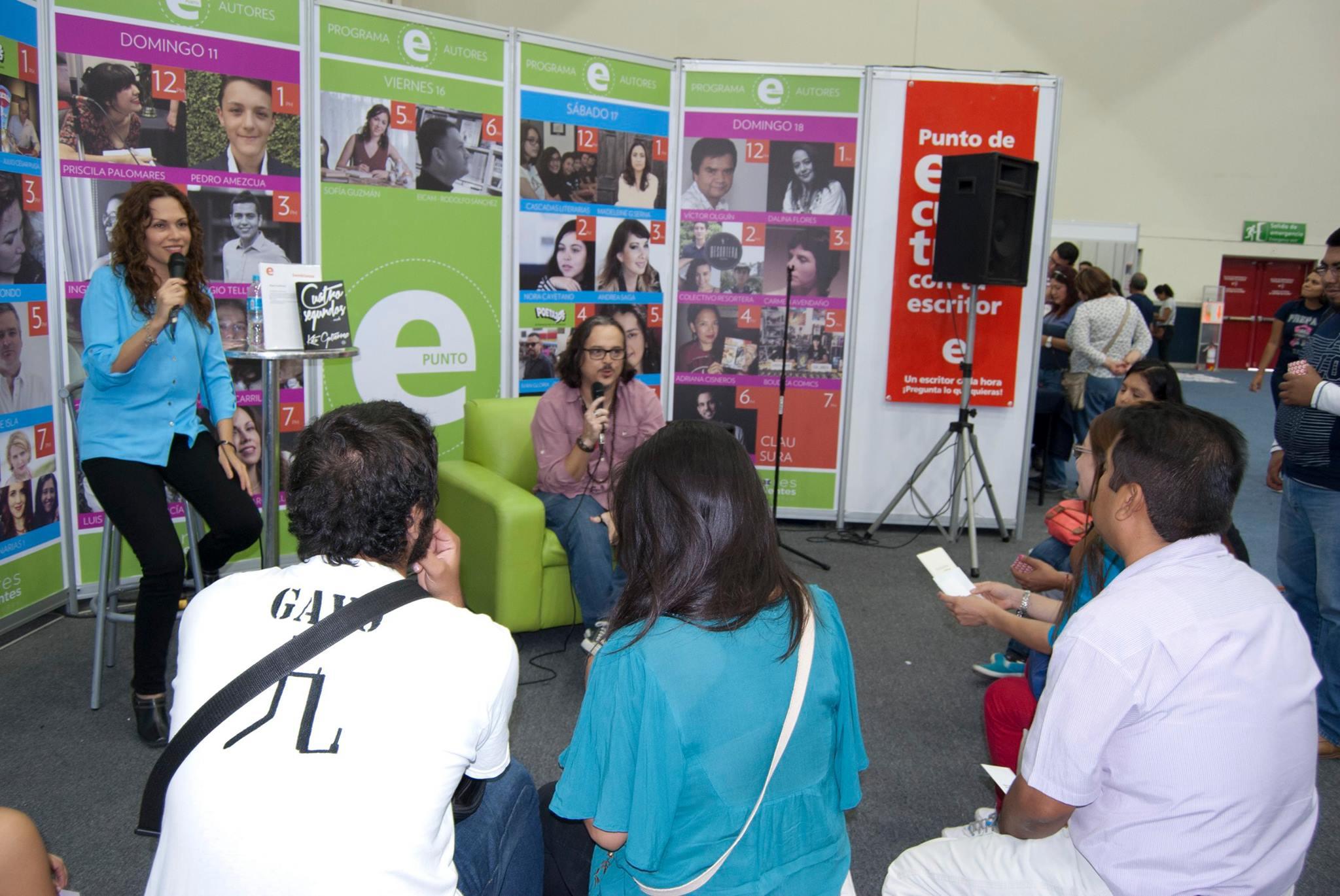 Escritores Independientes Capítulo Monterrey en la FIL Mty 2015