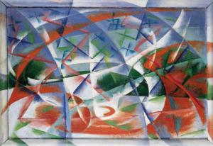 Giacomo Balla- Abstract Speed + Sound