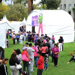 Entre vampiros, brujas, catrinas y esqueletos, niños, jóvenes y sus familias disfrutan de la 16 Feria de las Calacas