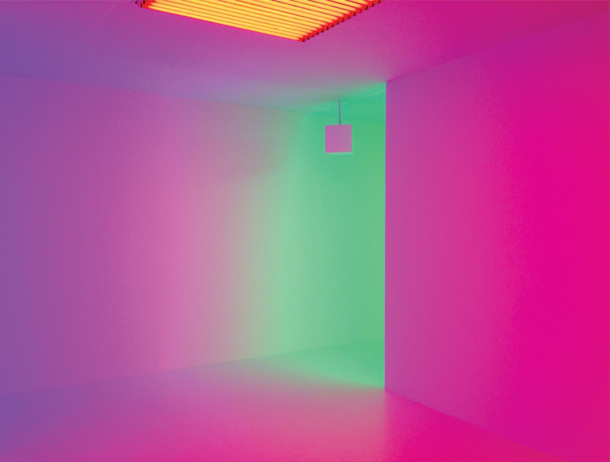 Chromosaturation de Carlos Cruz-Diez. LIGHTOPIA.
