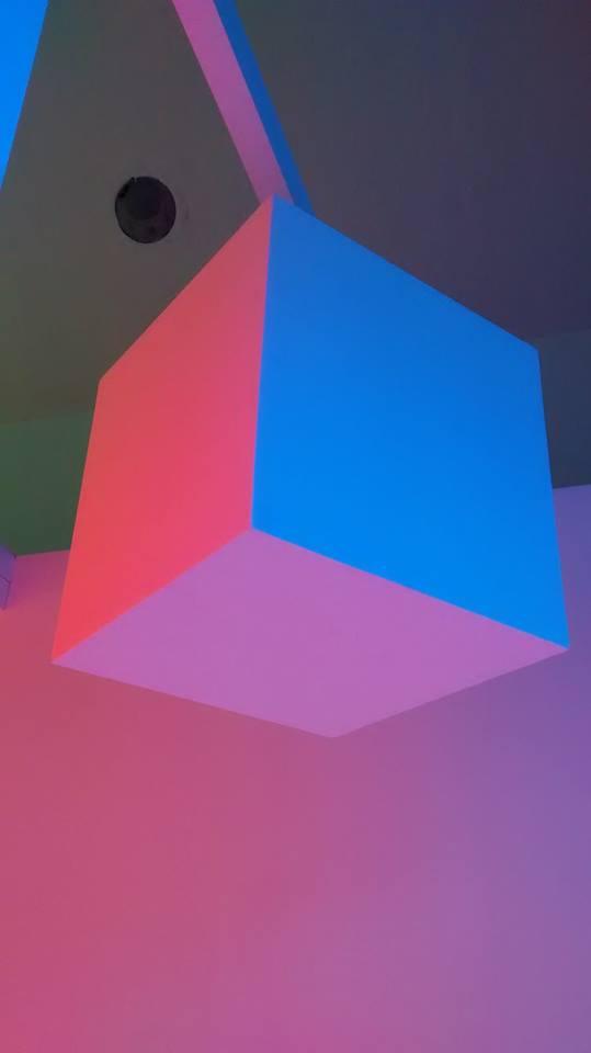 LIGHTOPIA, primer recorrido. Museo de Arte Contemporáneo de Monterrey. Foto 2