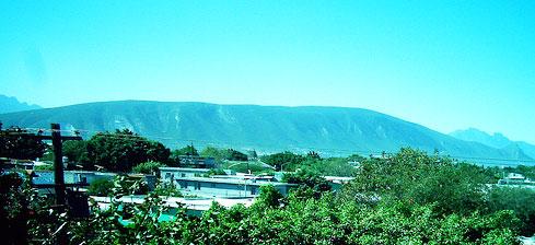 Cerro del Topo Chico. Cerros de Monterrey.