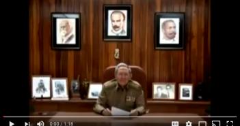 Así anunció Raúl Castro la muerte de Fidel