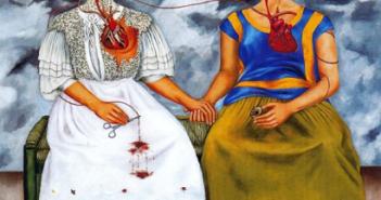 Frida-Kahlo-Las-dos-Fridas