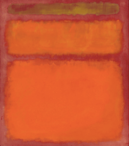 Mark Rothko- Orange, Red, Yellow