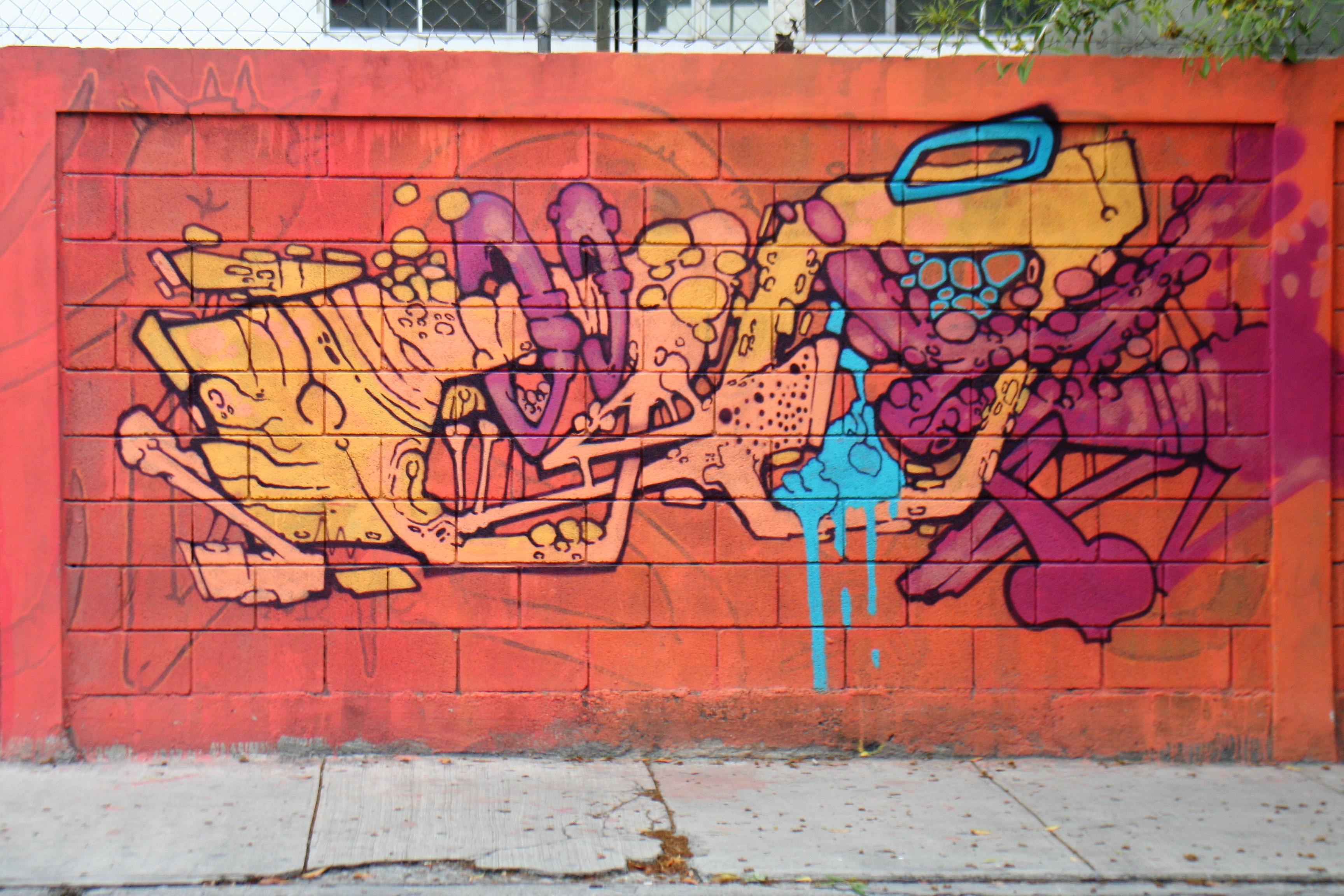 Mural en Barrio Antiguo listo para una buena foto, ¿te animas? / FOTO: Ada Rodríguez