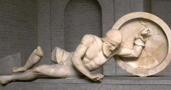 Escultura del templo de Afaia