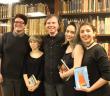 Alumnos dieron vida a la poesía de Felipe Montes