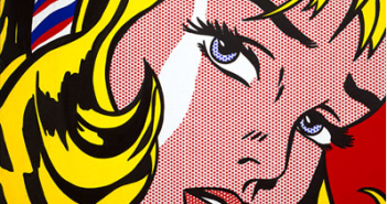 Roy Lichtenstein- Girl with Hair Ribbon