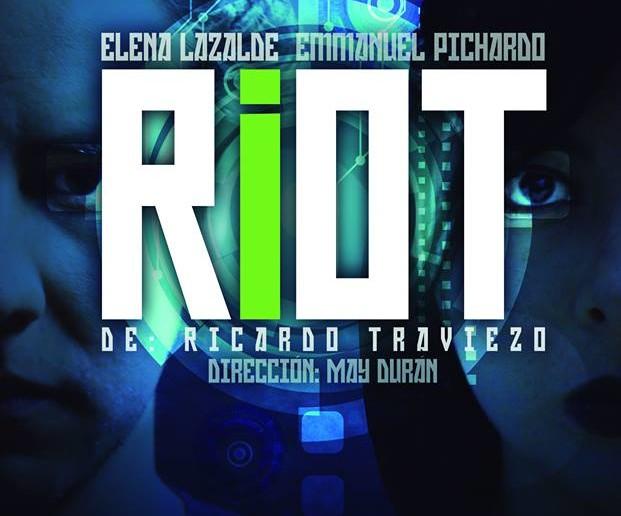 Riot, es una obra de ciencia ficción