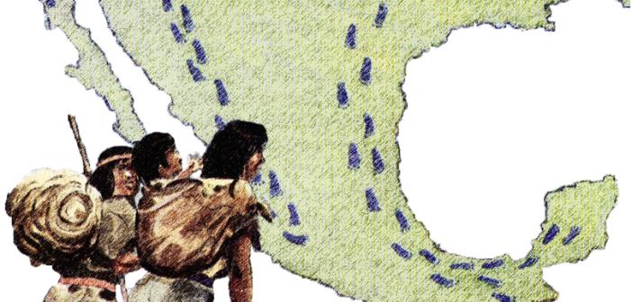 La movilidad de los grupos nómadas en Nuevo León