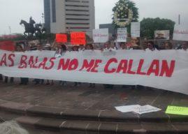Exigen periodistas de Nuevo León justicia por el asesinato de Javier Valdez