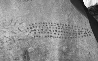 Pinturas y petrograbados de Nuevo León, ¿cómo, dónde y que figuras hacían?