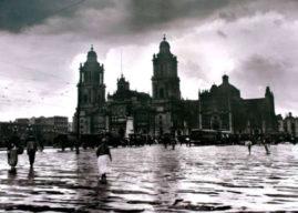La gran inundación que desapareció a la Ciudad de México