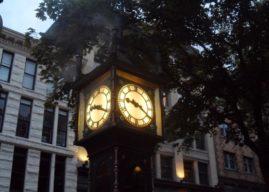 Historia del reloj de vapor de Vancouver