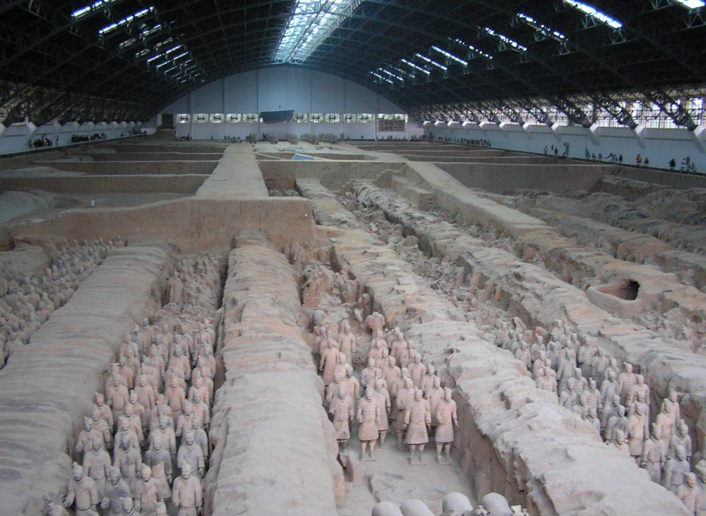 Mausoleo de Qin